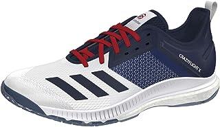 adidas EH2580 Crazyflight USAV Low Chaussures de Volley unisexe (Blanc - Bleu/Rouge