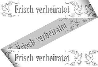 """Absperrband """"Frisch Verheiratet"""" 15m"""