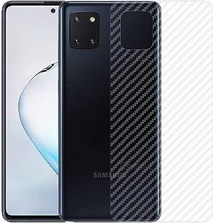For Samsung Galaxy Note 10 Lite Clear Skin Film Carbon Fiber Designed Back Protector