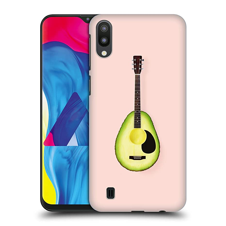 Official Paul Fuentes Avocado Guitar Pastels Hard Back Case Compatible for Samsung Galaxy M10 (2019)