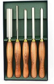 Crown 280 5 Piece HSS Wood Turning Tool Set