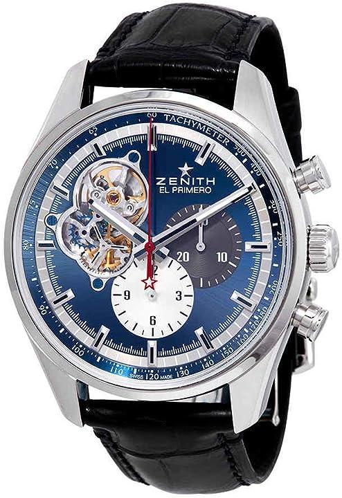 Orologio zenith el primero chronomaster 1969 cronografo automatico mens watch 03.2040.4061/52.c700
