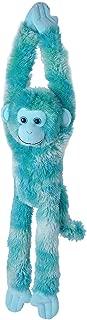 Wild Republic, Hanging Monkey Plush, Stuffed Animal, Plush Toy, Gifts for Kids, Vibe Blue, 20