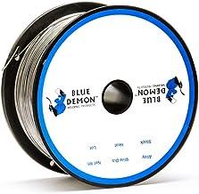 Blue Demon 308LFC-O X .035 X 1# Spool stainless steel flux cored gasless welding wire