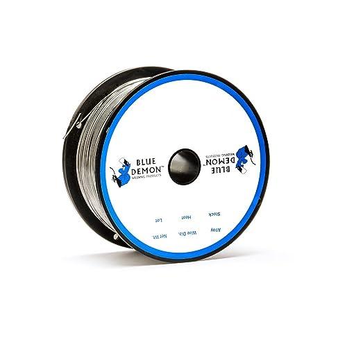 Blue Demon 308LFC-O X .035 X 1# Spool stainless steel flux cored gasless