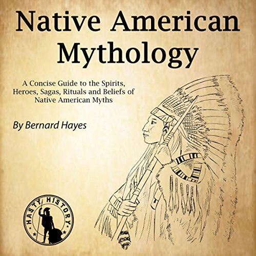 Native American Mythology audiobook cover art