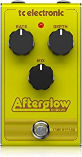 TC Electronic Afterglow Chorus Vintage-Style Pedal with All-Analogue Bucket-Brigade Circuit