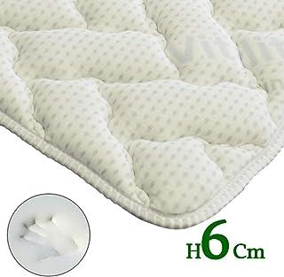 topper Vitality H6 CM Memory Foam corrector para colchón Super transpirable gracias AL innovador Tejido Greep