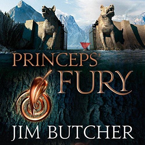 Princeps' Fury audiobook cover art