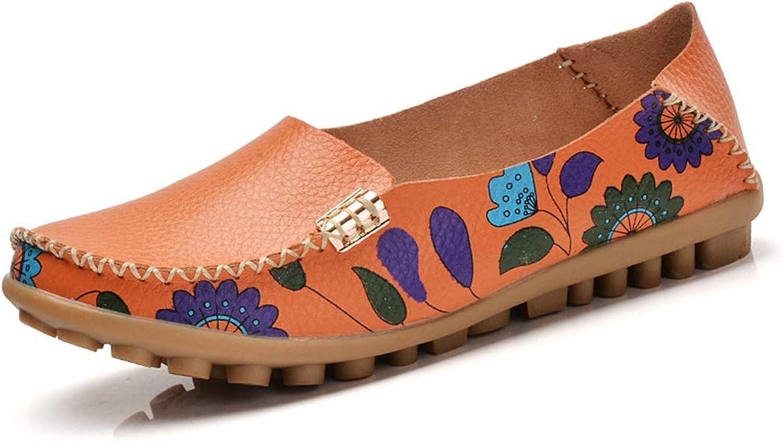 Drew Toby Women's Flats,Casual Mixture color Comfortable Moc-Toe Peas shoes