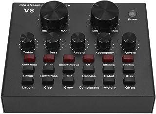 Tarjeta de Sonido Externa en Vivo, Mezclador de Audio ...