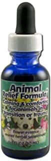 Flower Essence Services Animal Relief Formula Dropper Herbal Supplements, 1 Ounce