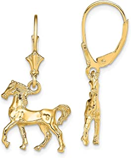 Set of Three Horse and Horseshoe Themed Earrings from The Wyo-Horse Collection
