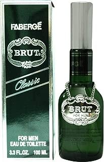 BRUT by Faberge ORIGINAL SPRAY COLOGNE 3 OZ (GLASS BOTTLE)