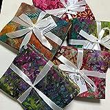 Textile Station Batik Premium bedruckte Fat Quarter Bündel