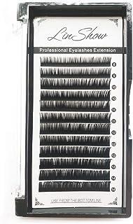 LinShow Eyelash Extensions Individual Lashes Premium Single Classic Lashes Handmade Mink Eyelash Extension 0.20 C Curl8-14...