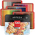 Set of 120 Arteza Professional Watercolor Pencils