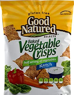 Good Natured Selects Gluten Free Baked Crisps (Vegetable Ranch 6 oz., 3 Bags)