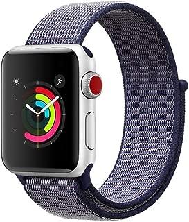 AIGENIUコンパチブル Apple Watch バンド Series5/4/3/2ナイロンループ アップルウォッチ バンド 42mm 44mm
