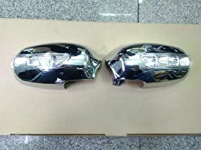 Pukido for Toyota Mark-2 GX90 Mirror housing Shell Plating with LED Light