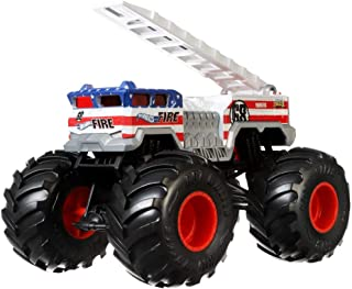 Hot Wheels 5 Alarm Monster Truck, 1:24 Scale