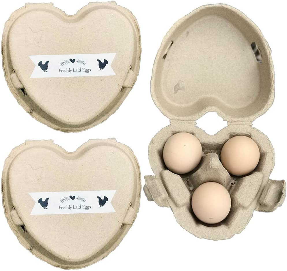 40 Low price pack 3 Egg Carton Heart Decorative Tape with Pul Shaped Paper Time sale