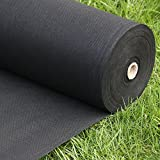 FLARMOR Landscape Fabric Heavy Duty - Weed Barrier Landscape Fabric - Weed Blocker - Garden Fabric...
