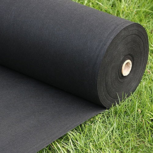 FLARMOR Landscape Fabric Heavy Duty - Weed Barrier Landscape Fabric - Weed Blocker - Garden Fabric Roll 1.8 oz - Commercial Weed Control Fabric 3 Ft X 300 Ft