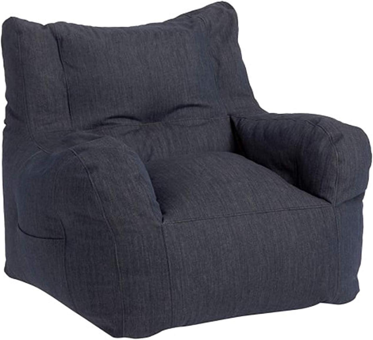HAOHANYOUPIN Leisure Single Bean Bag Nippon regular agency Filling no discount Chair Fabric