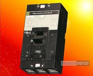 Refurbished Square D LAL36300 Circuit Breaker 3 Pole 300A 600V 30kA LAL