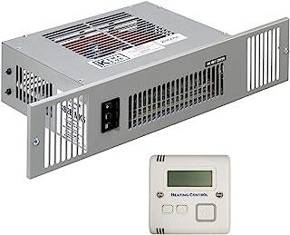 Smiths SS2EW - Calefactor eléctrico de 2 kW con rejilla de efecto de acero cepillado, tamaño de habitación de hasta 29 metros cúbicos