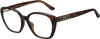 اطار نظارة طبية للنساء مقاس 53/17/140 بلون هافانا داكن من جيمي تشو طراز JC252/F