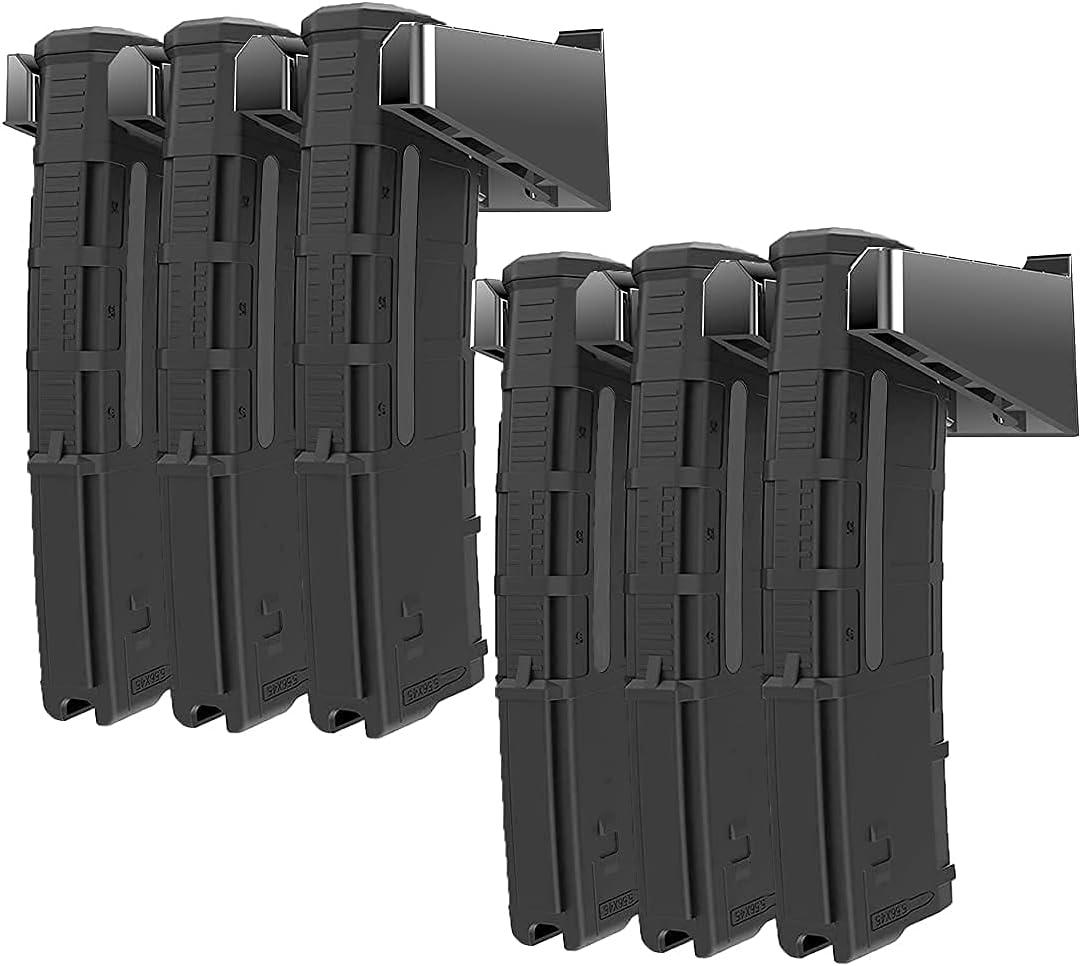 Nswern 6X Standard Max 62% OFF PMAG Wall Mount Gun wholesale Holder Magazine Mag