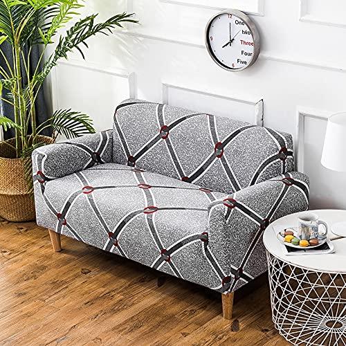 PPOS Fundas de sofá elásticas universales de Estilo Tropical Fundas de sofá para Sala de Estar Fundas Protectoras Bohemia Decoración para el hogar A4 Loveseat 145-185cm-1pc