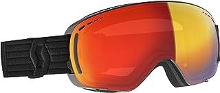 Scott LCG Compact Goggle röd svart, skidglasögon, storlek en storlek – färg svart – förstärkare röd krom