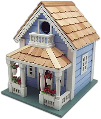 Home Bazaar HB-9520S Orleans Cottage Birdhouse, Blue