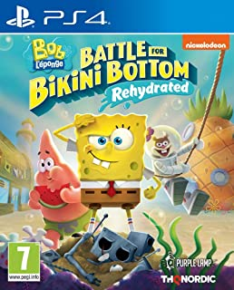 Spongebob SquarePants: Battle for Bikini Bottom - Rehydrated (PS4) (PS4)