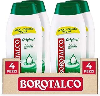 Borotalco, Bagnodoccia Original, Bagnoschiuma Liquido al Profumo di Borotalco, Formula Idratante e Nutriente, Profumo Fres...