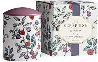L'or de Seraphine Premium Scented Candle in Designer Ceramic Jar with Gift Box, Seraphine Collection Medium - 6.4oz. Multi...
