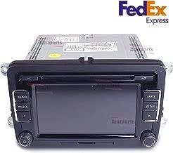 Amzparts RCD510 Radio 6 Disc CD MP3 Player for Volkswagen Golf Passat Tiguan Polo Jetta
