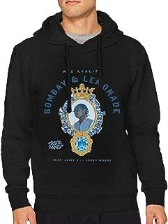Man Wiz Khalifa Cotton Hooded Pullover Sweatshirts Drawstring Sweater Humor Long Sleeve Top Hoodies
