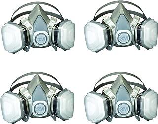 3M 07193 Dual LRpMa Cartridge Respirator Assembly,Organic Vapor/P95, Large (4 Pack)