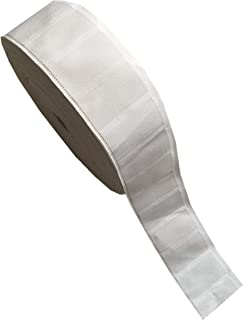 SM SunniMix 2 Rolls 7 Meters Fabric Fusing Tape Hem Tape Adhesive Iron-on Hemming Tape Roll 40cm 42cm Wide for Clothes Home Textile Garment Curtain and More