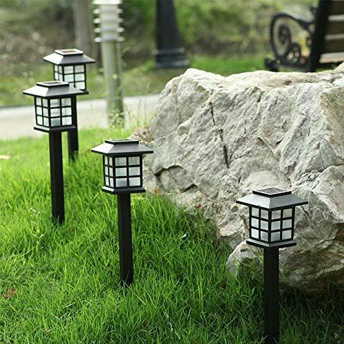 W.Z.H.H.H Luces solares Camino al Aire Libre LED de Luces solares for el jardín Paisaje Yard Decor Impermeable Impermeable de la luz del Paisaje lámparas de césped Luces al Aire Libre