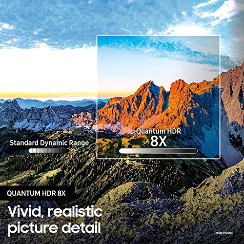 Samsung QN82Q70RAFXZA Flat 82-Inch QLED 4K Q70 Series Ultra HD Smart TV with HDR and Alexa Compatibility (2019 Model)