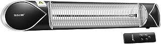 Maxkon 2000W Infrared Heater Electric Heater Instant Heat Patio Outdoor Indoor Carbon Fibre Strip Heater