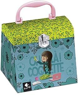 Caja musical joyero Busquets Coquette con espejo y cajón para guardar joyas