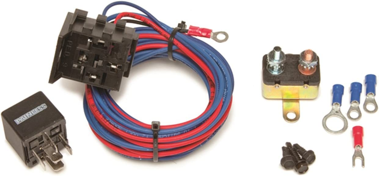 Painless Performance 50106 New color Electric Bombing new work Water Pump Relay Kit