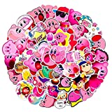 50PCS/Pack Kirby_Star Allies Stickers PVC Waterproof Stickers for Laptop Luggage Children Toy Motorcycle Skateboard Motorcycle