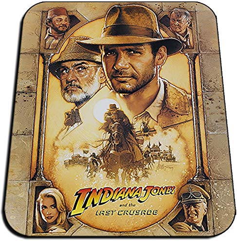 Indiana Jones Y La Ultima Cruzada Last Crusade B Tappetino per Mouse Mousepad PC
